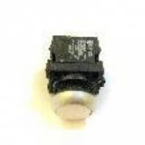 Кнопка 2-х контактная белая Werther-OMA B2156
