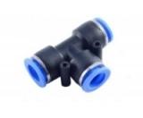 Фитинг T-образный для пластиковых трубок 4мм
